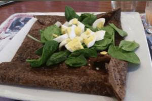 Spinach Galette
